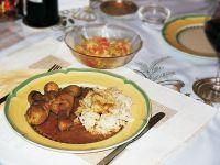 Pollo alla Cacciatora (Huhn mit Anchovis und Rosmarin)
